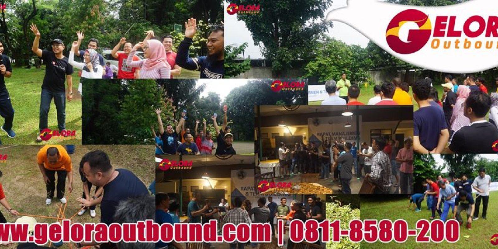 Tempat Outbound di Cico resort Sentul Bogor