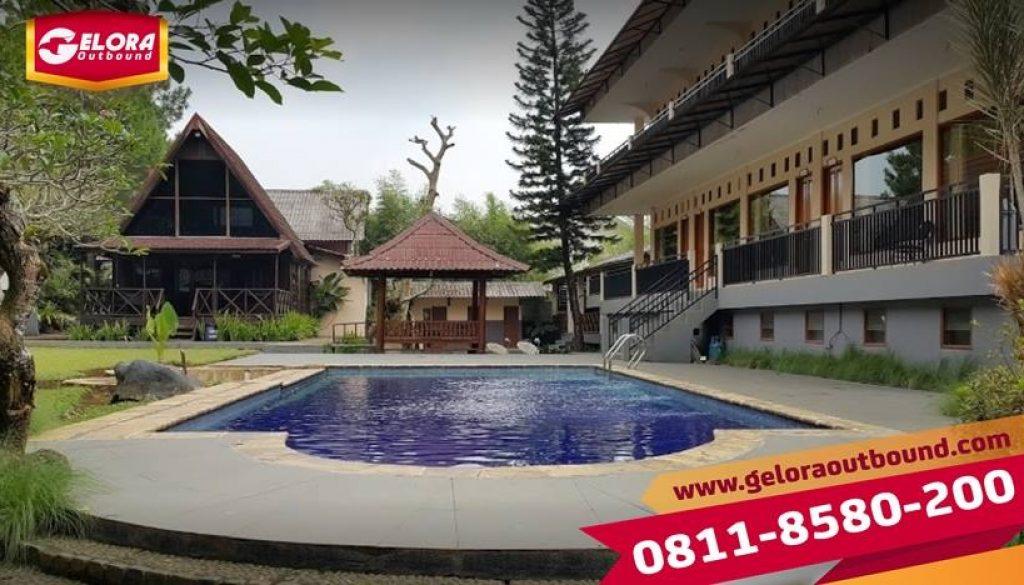 Tempat Paket Outbound di Santa Monica Resort Bogor